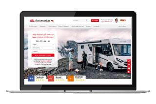 referenz ml reisemobile - SEO Agentur